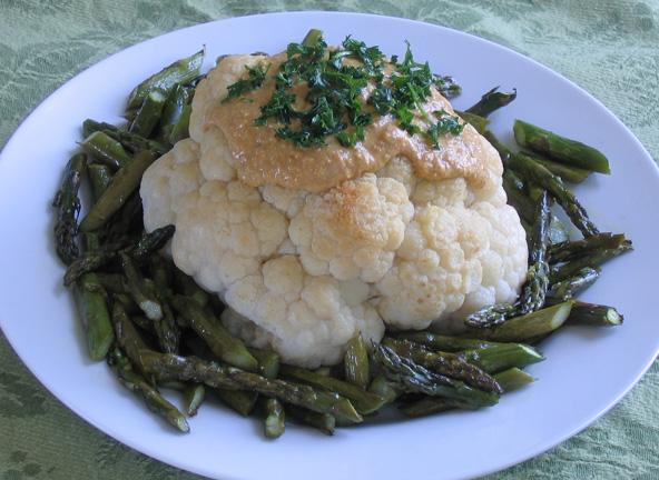Whole Roast Cauliflower 007a