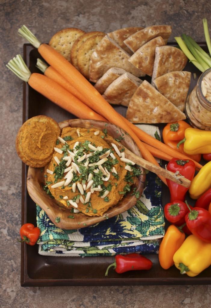 Smoke & Spice Almond Hummus