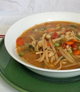 chickpea noodle soup zs