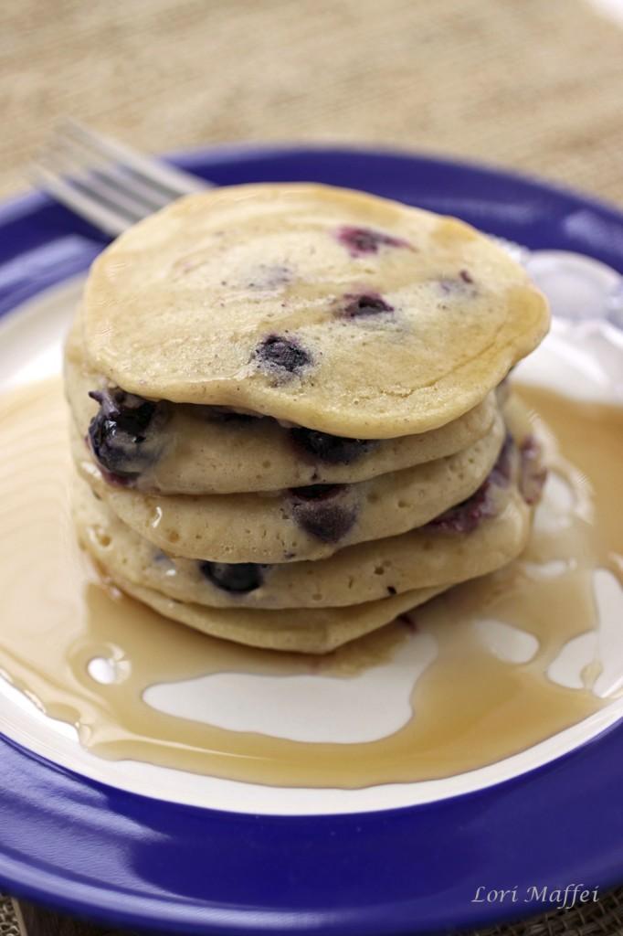 Blueberry Flax Pancakes 300x1000 1b
