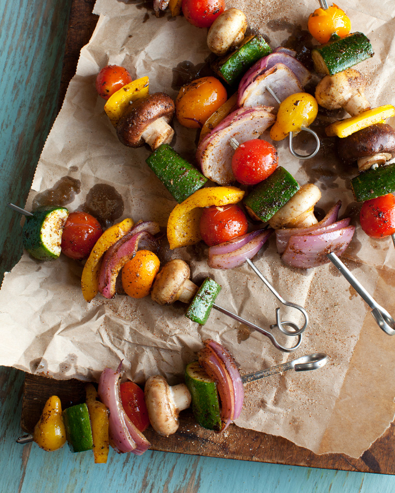 Jamaican Jerk Vegetable Skewers