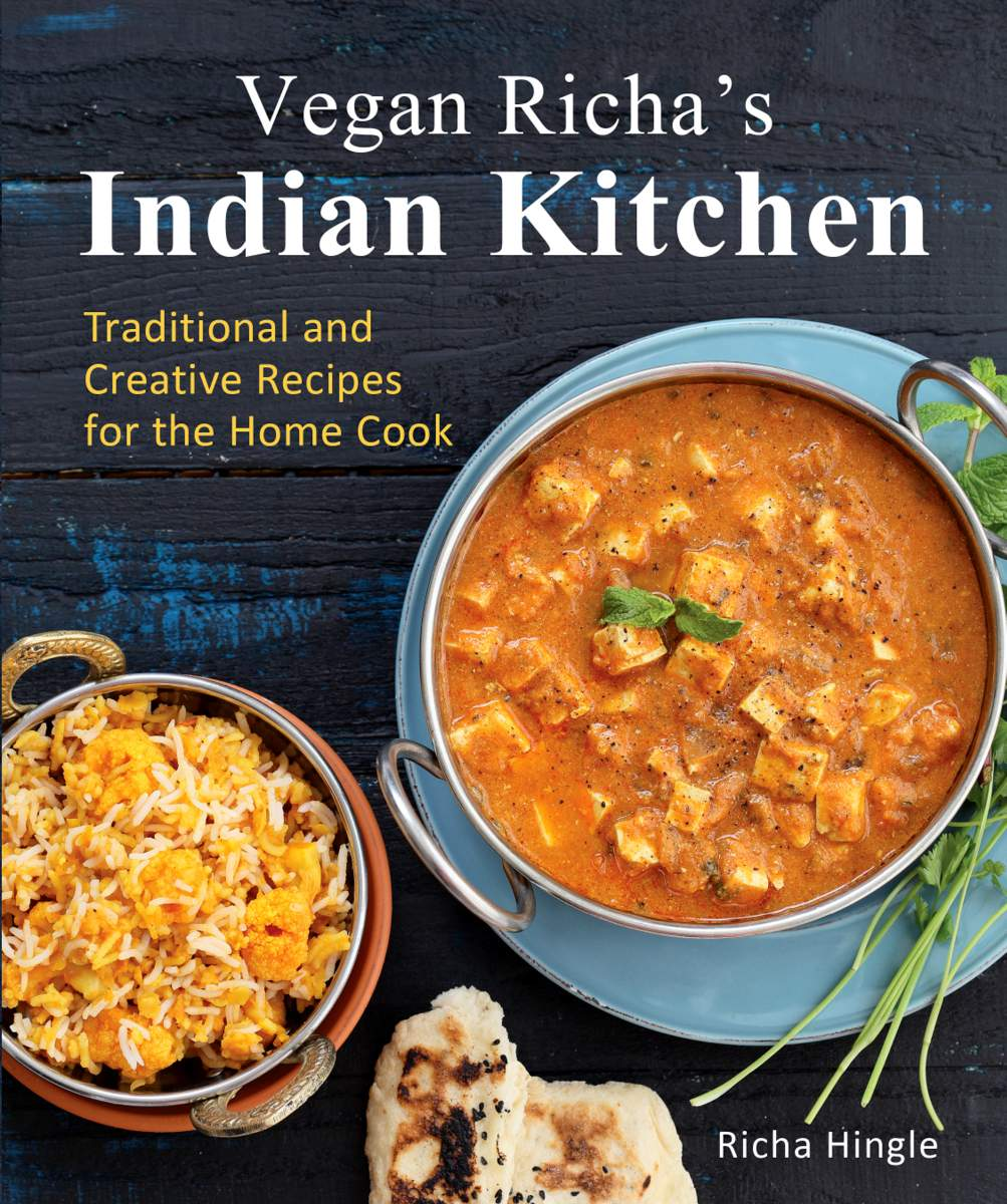 Vegan Richa's Indian Kitchen + Giveaway