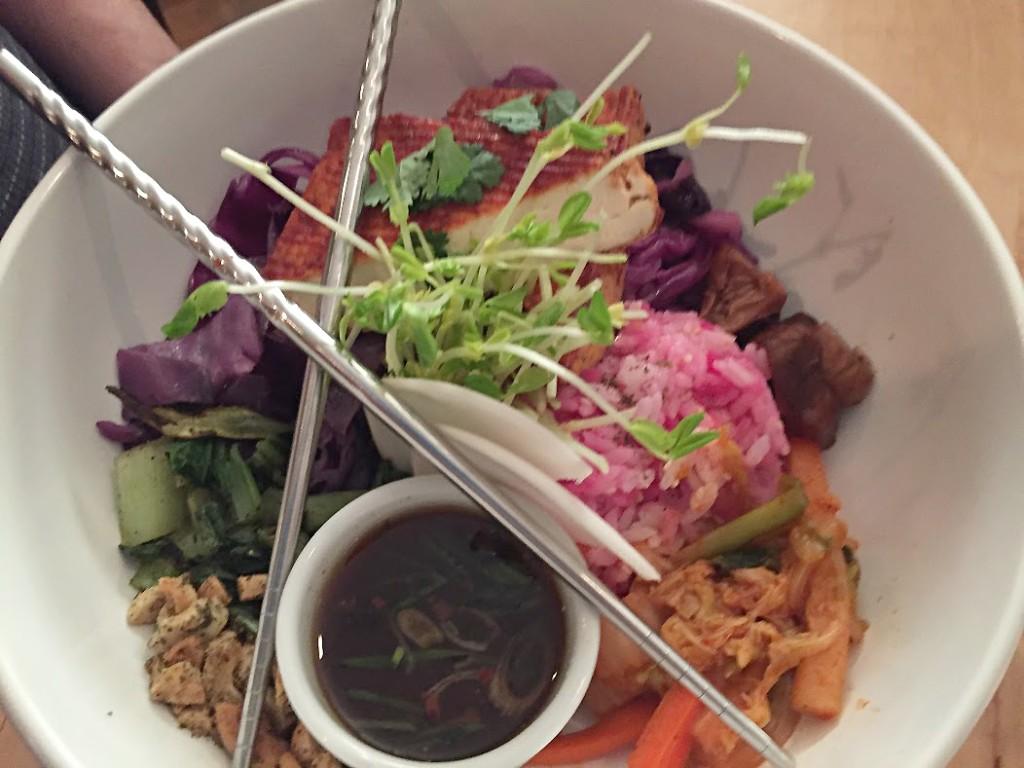 tofu bibimbap ColCor