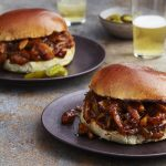 Pulled Jackfruit BBQ Sandwiches from Veganize It by Robin Robertson