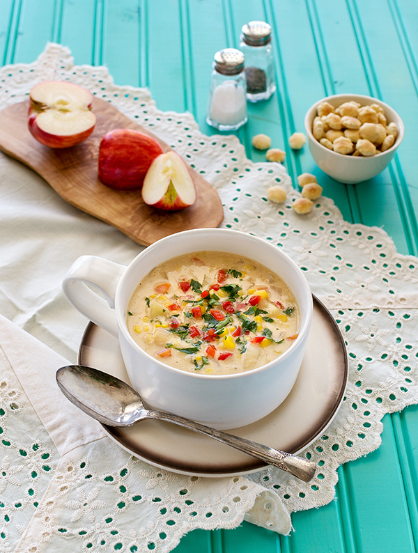 Vegan Chipotle Corn Chowder
