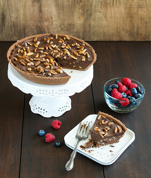 Robin Robertson's Easy as Chocolate Pie – vegan and easy to make