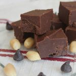 Too-Easy Chocolate-Peanut Butter Fudge from The Nut Butter Universe by Robin Robertson - vegan, dairy-free, gluten-free, and soy-free. Perfect for holiday give giving and Christmas celebrations