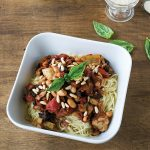 Vegan Kitchen Sink Cappellini from Cook the Pantry by Robin Robertson