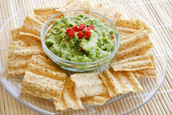 Robin Robertson's Smooth and Sassy Guacamole, vegan and gluten-free
