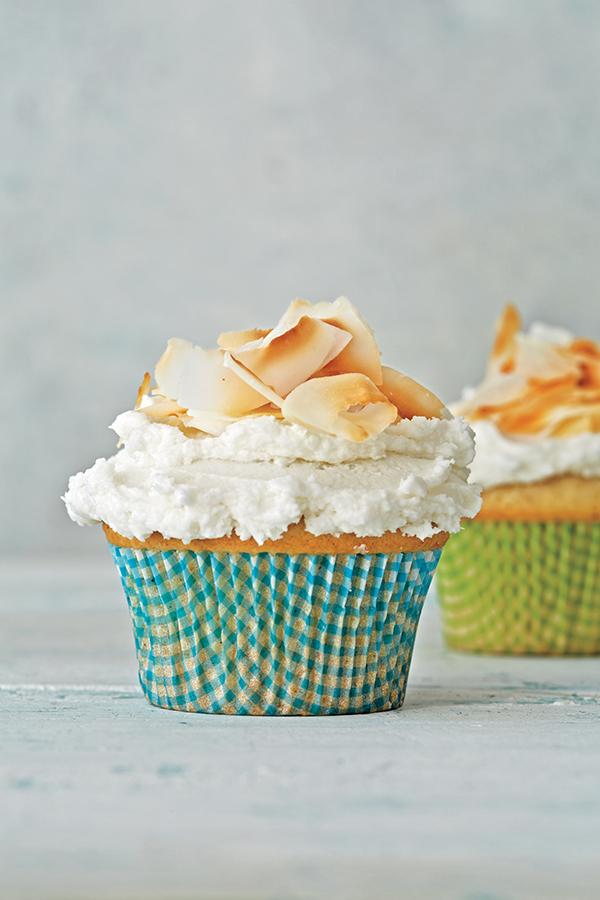 Robin Robertson's vegan Coconut Cupcakes