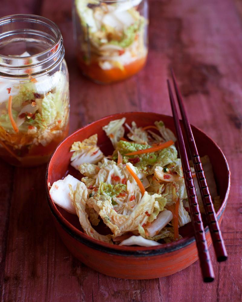 Robin Robertson's 24-hour Kimchi (vegan and gluten-free)