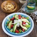 Taco Salad with Corn and Black Bean Salsa from Cook the Pantry by Robin Robertson (vegan and gluten-free)