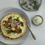 Vegan Seitan Gyros with Tzatziki Sauce from Veganize It! by Robin Robertson