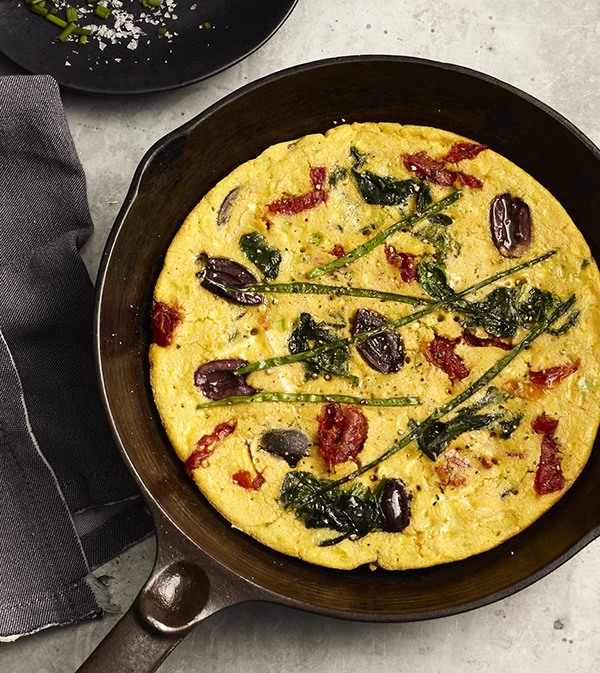Chickpea Flour Omelets from Veganize It! by Robin Robertson (egg-free, vegan and gluten-free)
