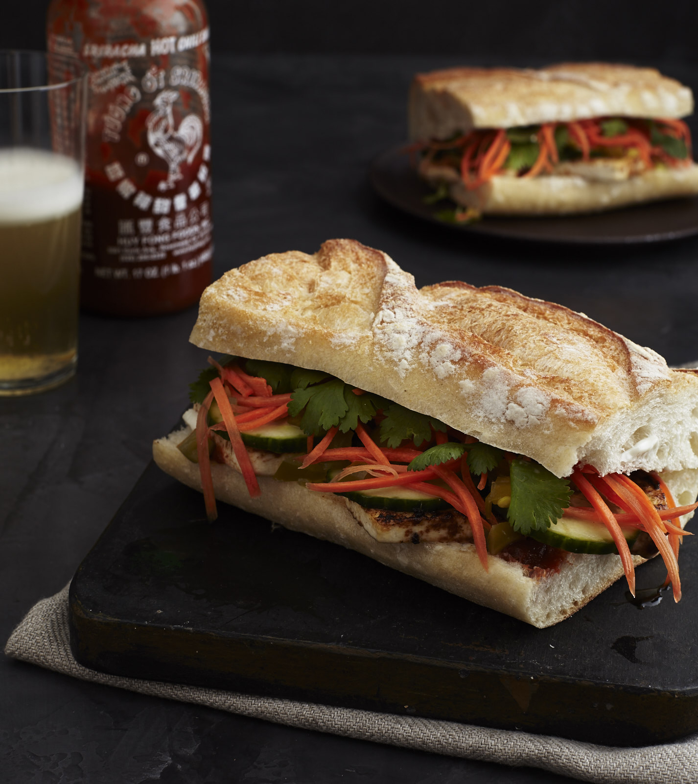 Vegan Banh Mi sandwich from Veganize It! by Robin Robertson