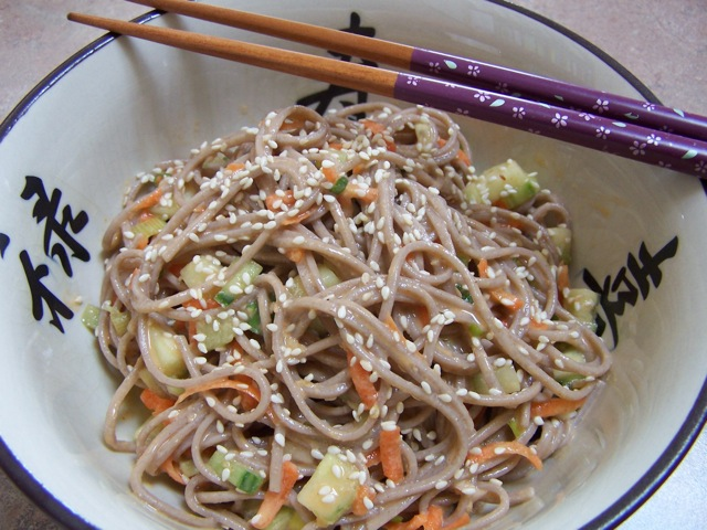 Fire and Ice Sesame Noodles