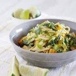 Coconut Curry Noodles and Butternut Squash from One-Dish Vegan Revised and Expanded Edition by Robin Robertson