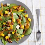 Smoky Chickpea Salad with Mango and Avocado from One-Dish Vegan Revised and Expanded Edition by Robin Robertson (vegan and gluten-free) #vegan #glutenfree #salad