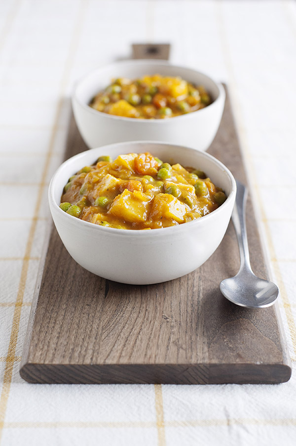 Japanese Vegetable Curry from One-Dish Vegan by Robin Robertson (vegan and gluten-free)