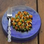 Robin Robertson's Roasted Sweet Potato Salad, vegan and gluten-free