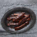 Vegan BBQ Seitan Ribs from Veganize It! by Robin Robertson